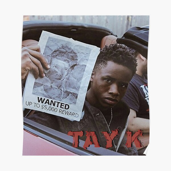 Tay K Wanted Poster