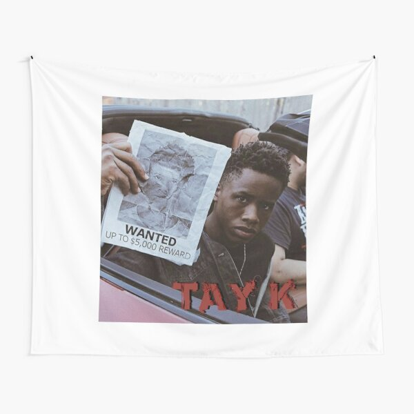 Tay K Wanted Tapestry