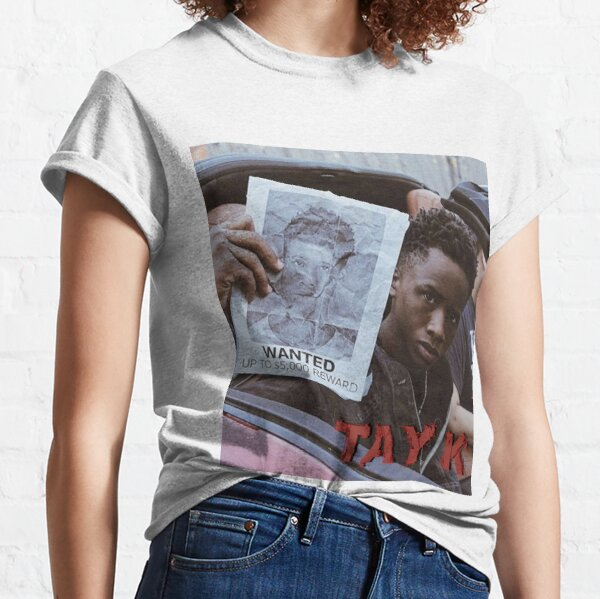Tay K Wanted T-shirt classique