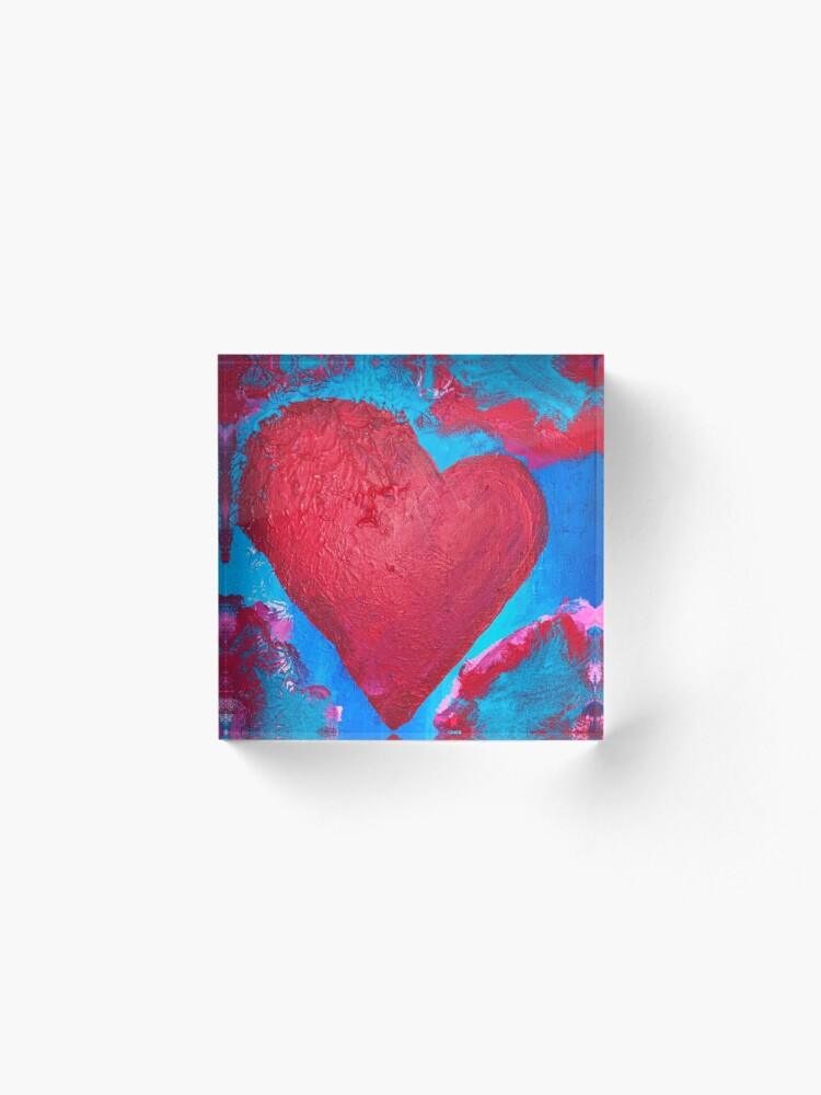 Alternate view of My Heart Is Yours  Acrylic Block