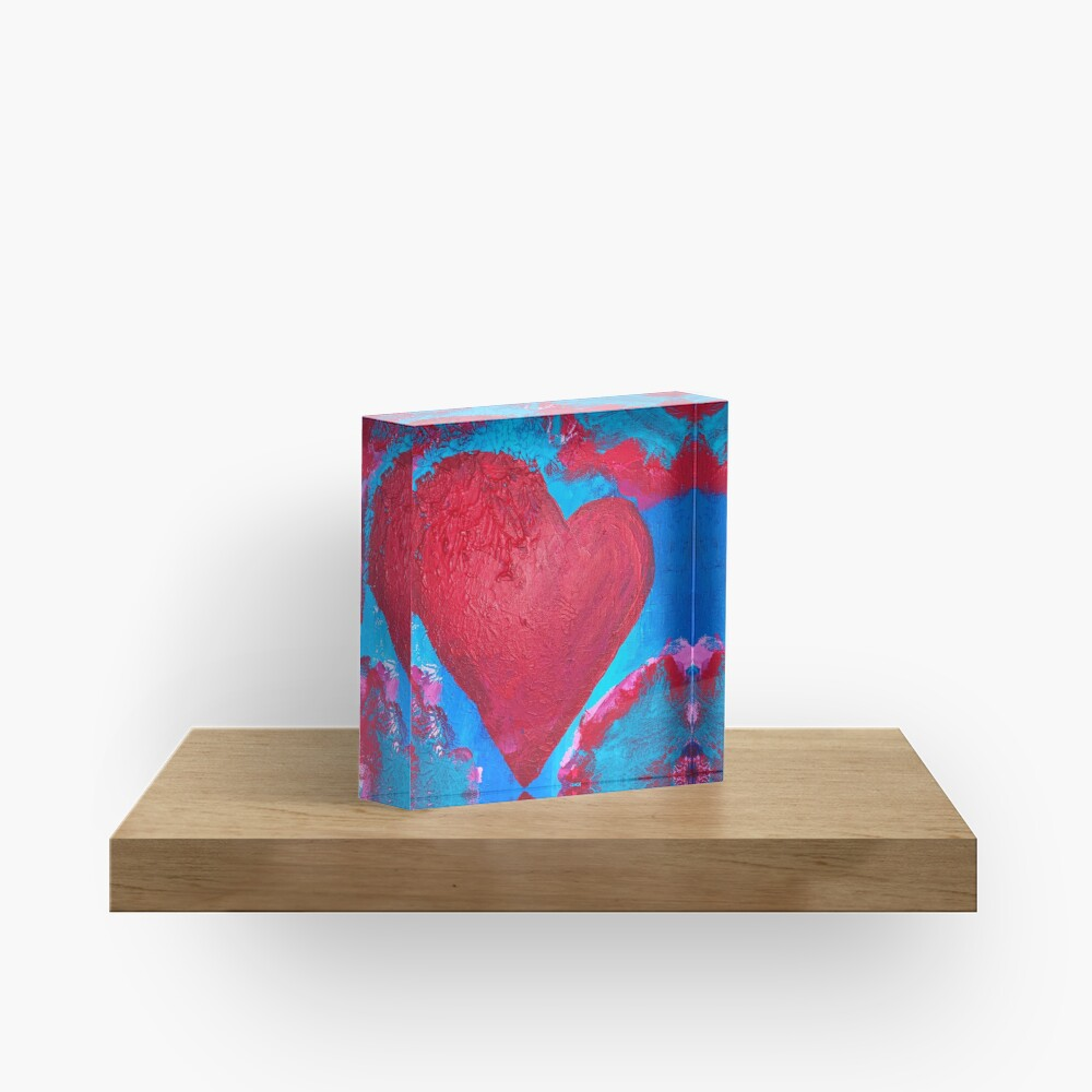 My Heart Is Yours  Acrylic Block