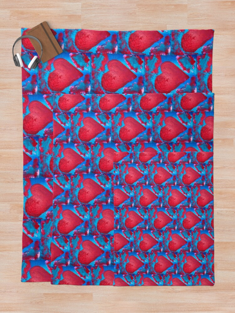 Alternate view of My Heart Is Yours  Throw Blanket