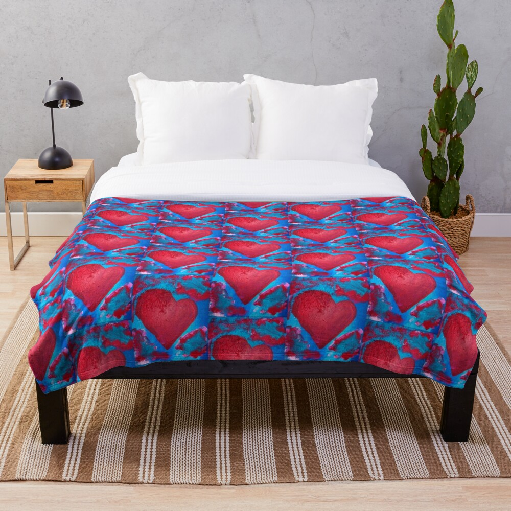 My Heart Is Yours  Throw Blanket