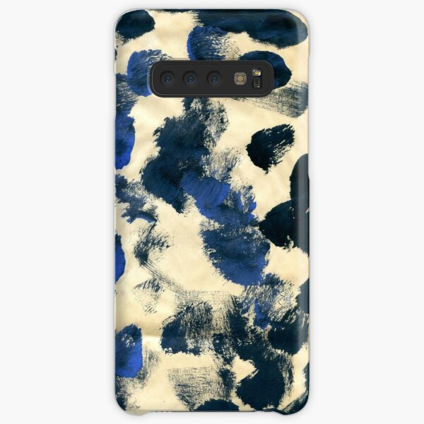 Navy Splodges Samsung Galaxy Snap Case