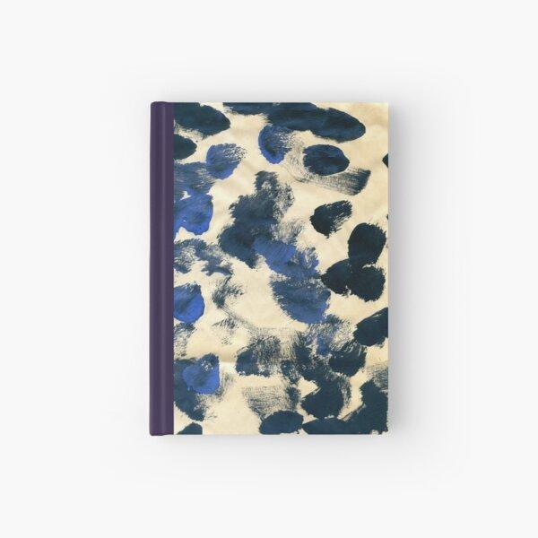 Navy Splodges Hardcover Journal