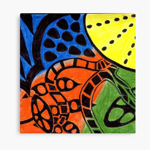Primary Fruit Canvas Print