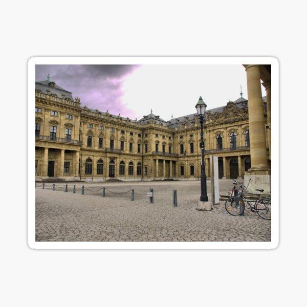 The Würzburg Residence -Palace  #3 Sticker