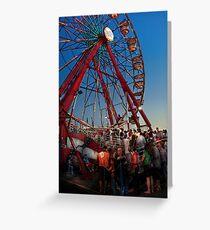 Carnival - An Amusing Ride  Greeting Card
