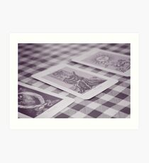 Tarot Cards Art Print