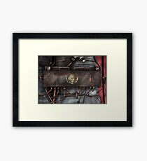 Steampunk - Connections   Framed Print