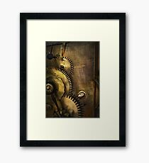 Steampunk - Toothy  Framed Print