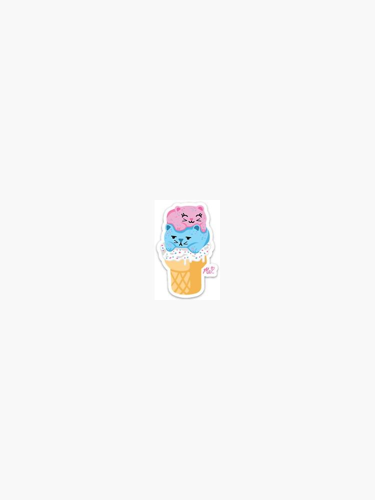 Ice cream Cats by MermicornMady