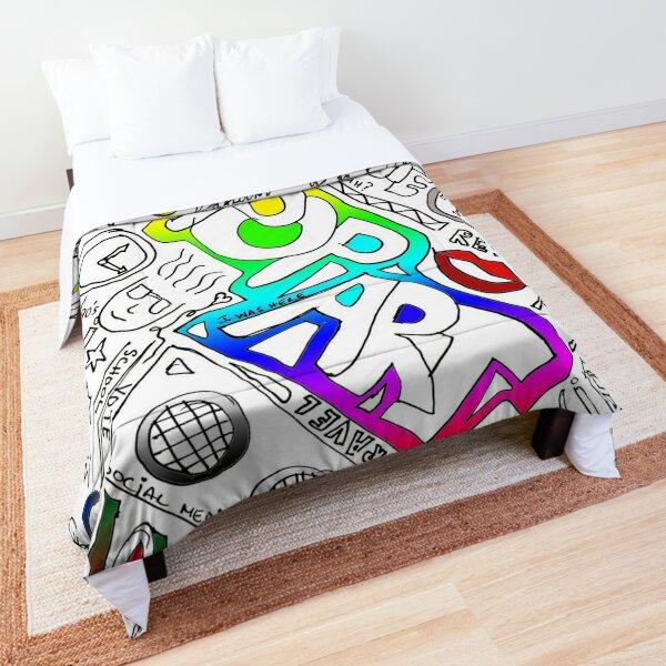 Graffiti: Colors Comforter