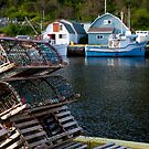 Lobster Traps - Petty Harbour, Newfoundland by Benjamin Brauer
