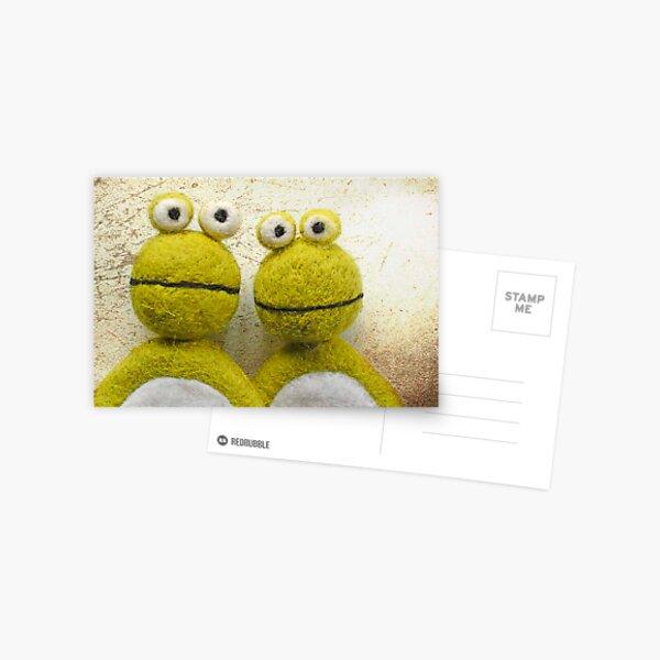 Frogs Postkarte