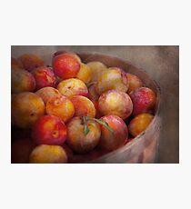Food - Peaches - Farm fresh peaches  Photographic Print