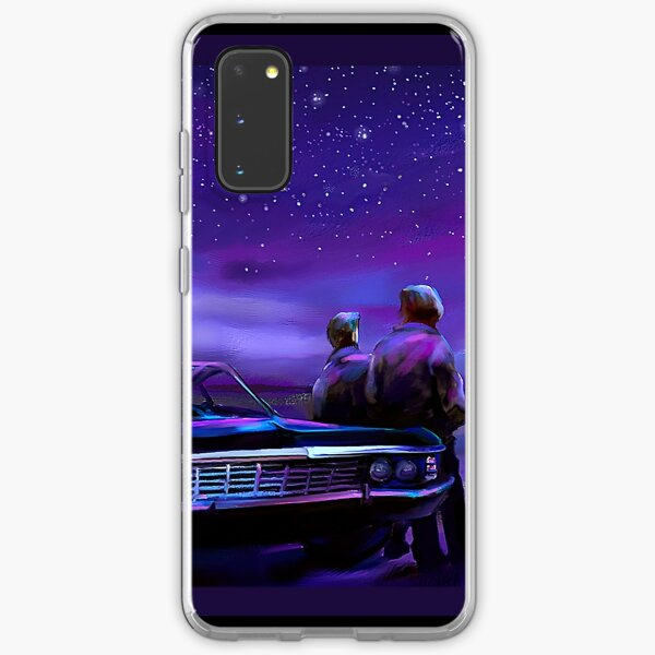 Impala Nights- Sam and Dean Samsung Galaxy Soft Case