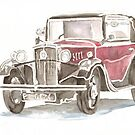 Classic car by Ally Tate
