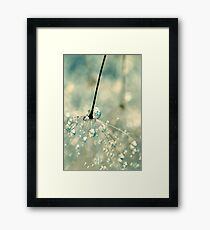 Fairy Blue Framed Print