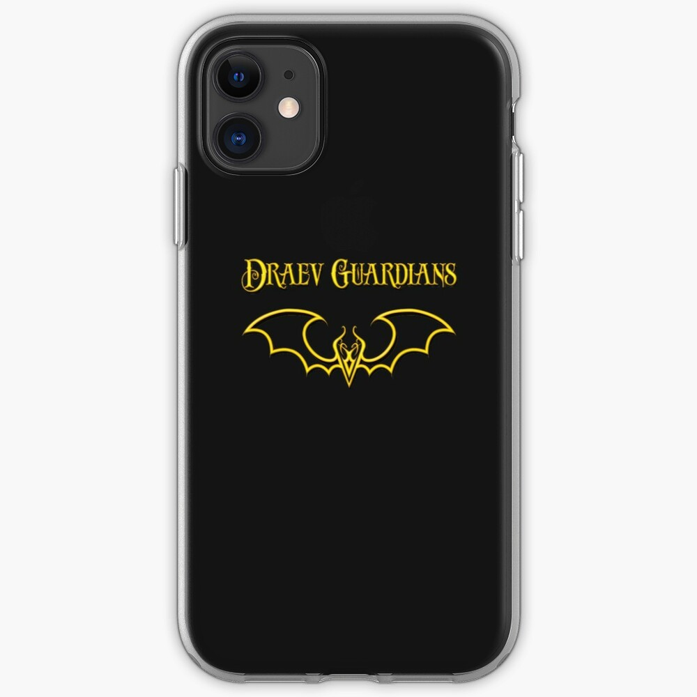 Draev Guardians fang wing symbol iPhone Case & Cover