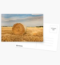 Norfolk Hay Bale Postcards