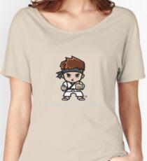 Martial Arts/Karate Boy - Bodyguard (gray font) Women's Relaxed Fit T-Shirt