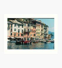 PORTOFINO...Italy... EUROPA--- 5000  VISUALIZZAZ. 2013. VETRINA RB EXPLORE 17 MARZO 2012 ---- Art Print