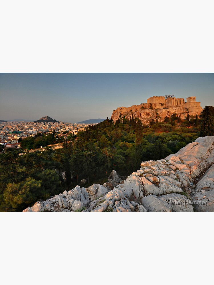 The Acropolis and Lycabettus Hill by PeterH