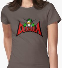 DUCKULA Womens Fitted T-Shirt