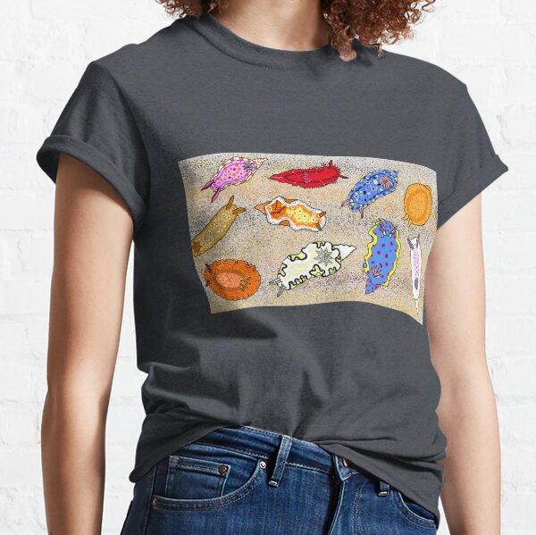Sea slugs of Lake Macquarie region Classic T-Shirt