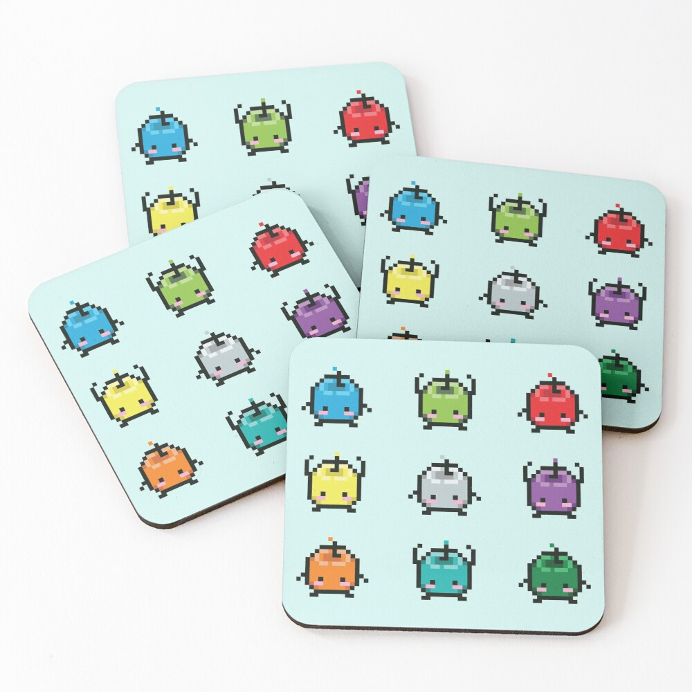 Keepers of the Forest Coasters (Set of 4)