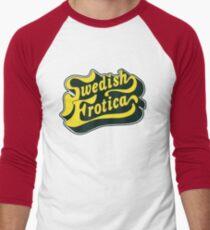 Schwedisch Baseballshirt mit 3/4-Arm