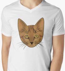Cat / Kitten (Benji) Men's V-Neck T-Shirt