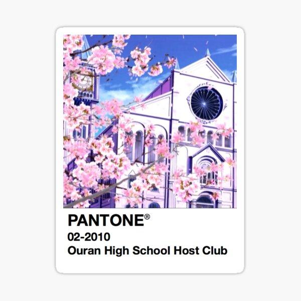 PANTONE Ouran High School Host Club Sticker