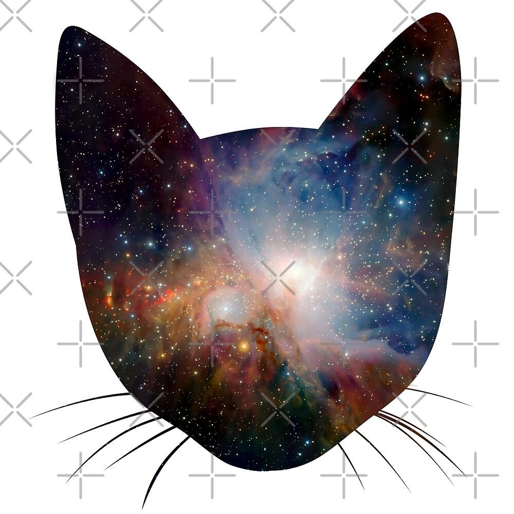 """Galaxy cat by Ulrik """"TheFoxOnFire"""" Christensen"""