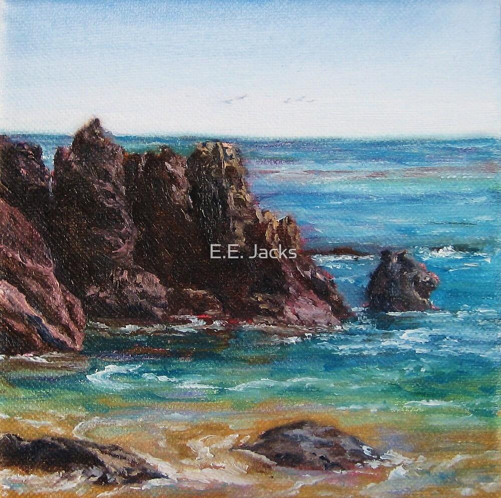 Laguna Beach Rocks by E.E. Jacks