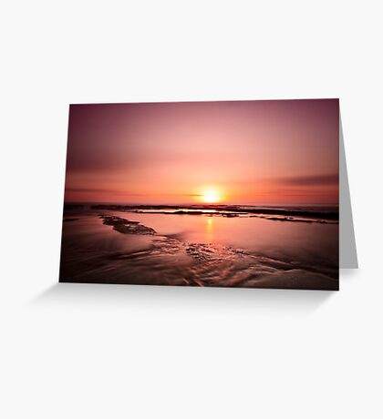~ the sunrise ~ Greeting Card