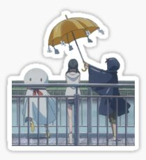 Weathering with you rain dance Sticker