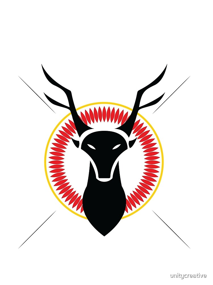 Stag Head  by unitycreative