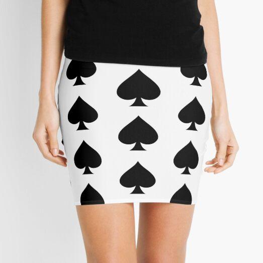 spade Mini Skirt