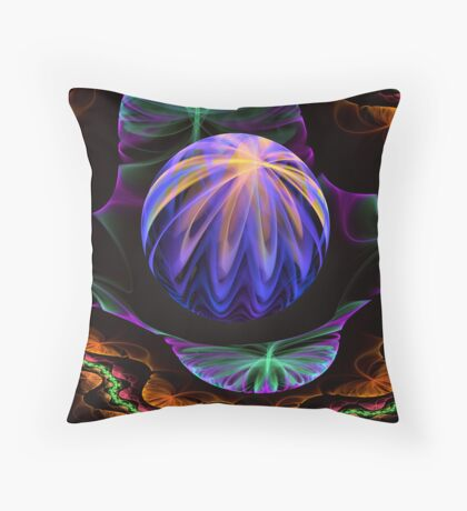 Xaos Watermelon Throw Pillow
