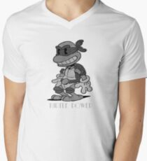 Turtle Power Men's V-Neck T-Shirt
