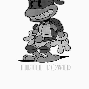 Turtle Power by garybedell