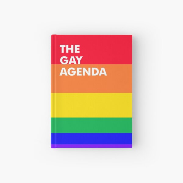 The Gay Agenda Hardcover Journal