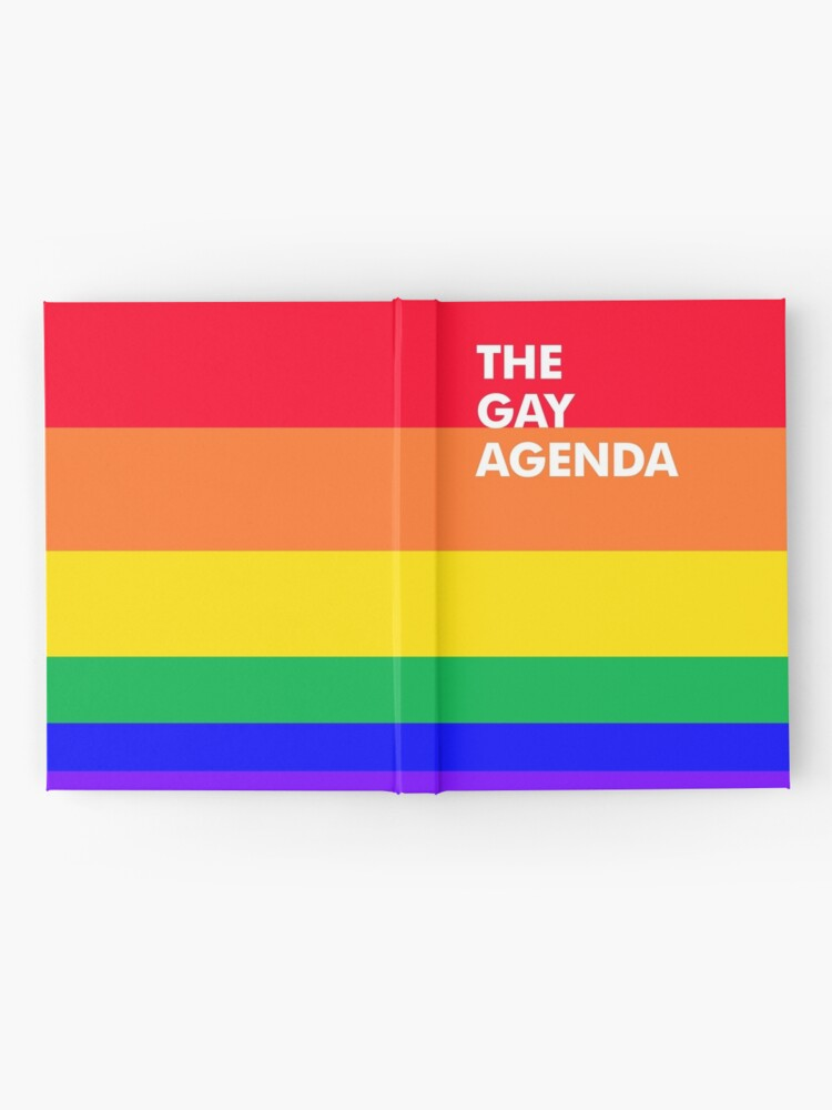 Alternate view of The Gay Agenda Hardcover Journal