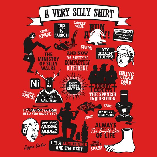 TShirtGifter presents: Monty Python Quotes