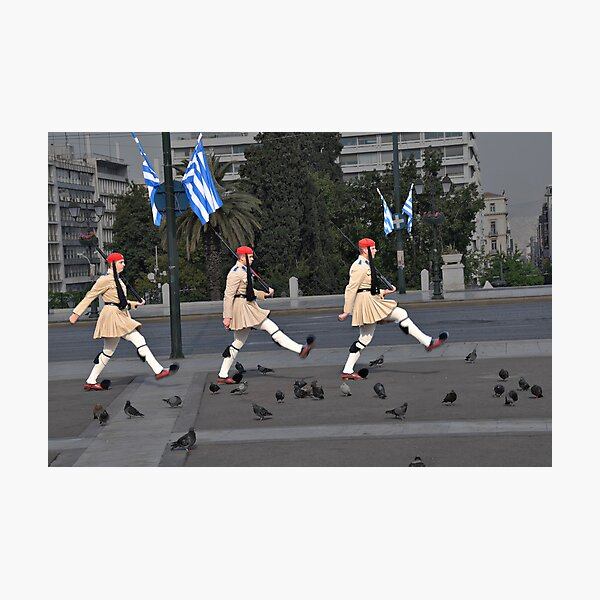 Changing of the Guard Photographic Print