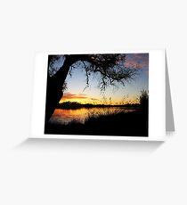 Adachi Sunset Greeting Card