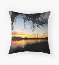 Adachi Sunset Throw Pillow