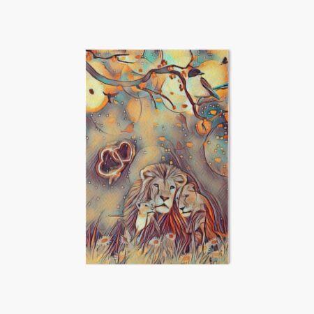 love icon lion Art Board Print